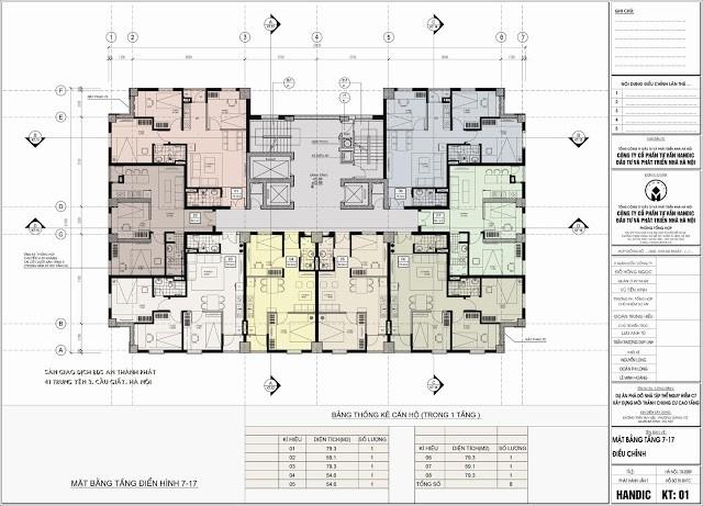 sơ đồ mặt bằng tầng điển hình chung cư c7 giảng võ