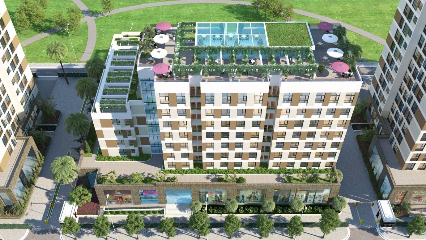 Tổ hợp khu căn hộ cao cấp Valencia Garden.